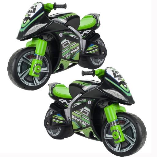 Duzy Motor Kawasaki Scigacz Biegowy Dla Dzieci 9811495437 Allegro Pl