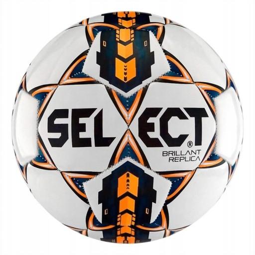 Piłka nożna Select Brillant Replica roz. 5