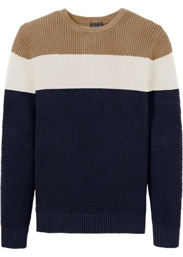 X251 BPC Sweter dzianinowy Regular Fit r.68/70 10211719435 Odzież Męska Swetry JT IPTGJT-3