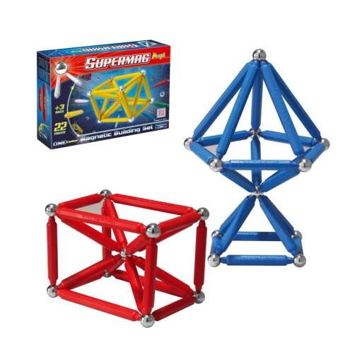 Supermag Maxi One Color Klocki Magnetyczne 22 El 9826155459 Allegro Pl