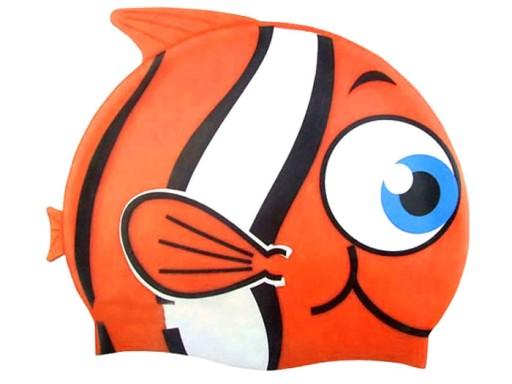 Czepek kąpielowy, pływacki - rybka 26025