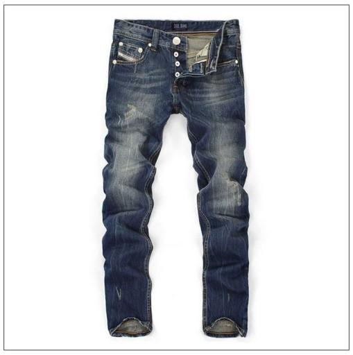Dżinsy męskie Dżinsy męskie Proste dżinsy z nadru 10044789041 Odzież Męska Jeansy LB KNNZLB-4