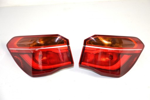 BMW X1 F48 lampa tylna tył LED 7488545 7488546
