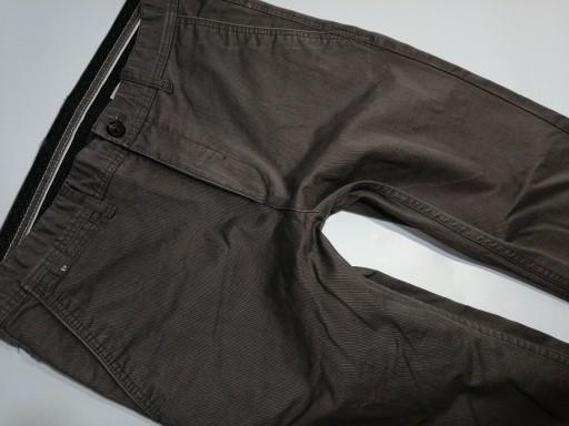 ZARA szare spodnie chinosy męskie r. 40 us31 10773043727 Odzież Męska Spodnie AP JATQAP-3