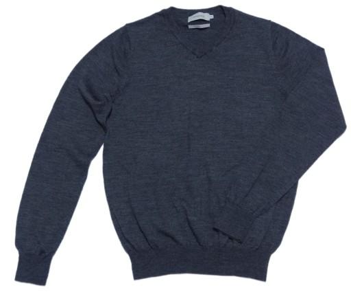 DRESSMANN sweter męski WEŁNA MERINO WOOL ULL S M 10091864174 Odzież Męska Swetry QY CVCTQY-8