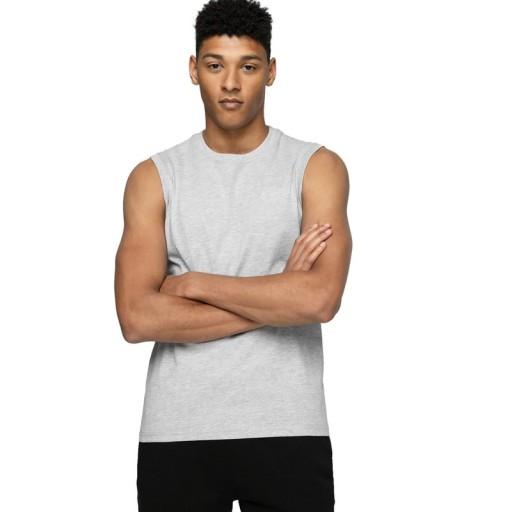 Koszulka Męska bez rękawÓw 4F bezrękawnik tank top 10501821621 Odzież Męska T-shirty PE CVYCPE-7