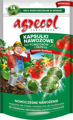 Agrecol Nawoz Kapsulki Do Pomidorow Papryki 9099352617 Allegro Pl