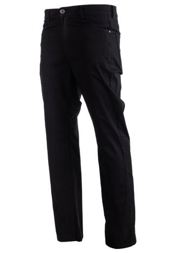 KLASYCZNE ELEGANCKIE MATERIAŁOWE PROSTE CZARNE r36 9592258200 Odzież Męska Spodnie IJ YXTQIJ-7