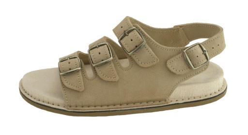 Profilowane sandały typu fusbet, Brązowe 46 10759302382 Obuwie Męskie Męskie HX EDFGHX-4