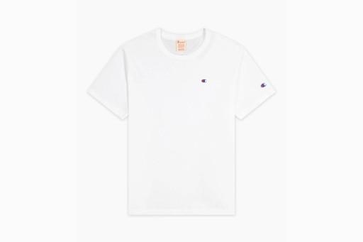 CHAMPION SMALL C LOGO 215341-WW001 KOSZULKA MĘSKA 9700874822 Odzież Męska T-shirty OR LDXSOR-8