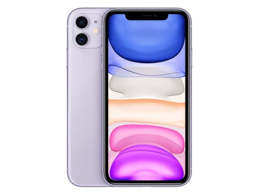 Smartfon APPLE iPhone 11 64GB Fioletowy MWLX2PM/A
