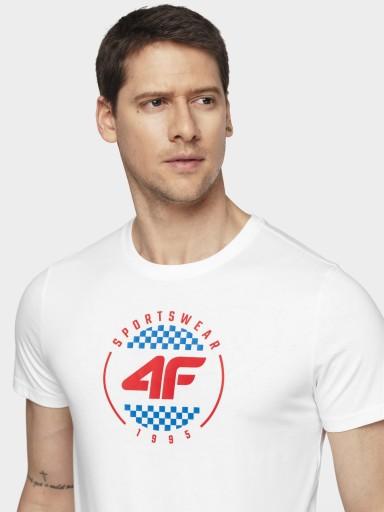 4F MĘSKA KOSZULKA T-SHIRT L20 TSM022 ' XL 9297922819 Odzież Męska T-shirty ZB QAYBZB-1