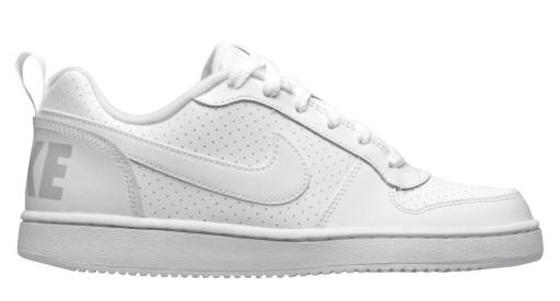 sneakersy dziecięce Nike Court Borough NIKE białe Buty