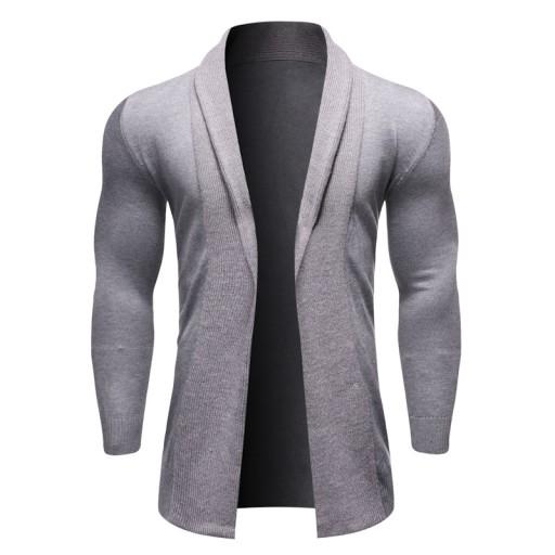 zewnętrzny, bez klap, bez guzikÓw Dzianina męska 9814303382 Odzież Męska Swetry XT EVZVXT-7