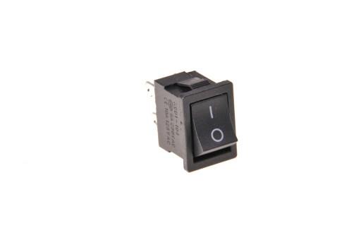 Włącznik kołyskowy mały 6A/250AC 4pin/2poz (1174)