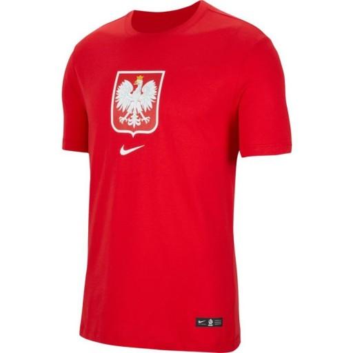 Koszulka Reprezentacji Polski Nike Evergreen # L 9662423233 Odzież Męska T-shirty HW DSHBHW-2