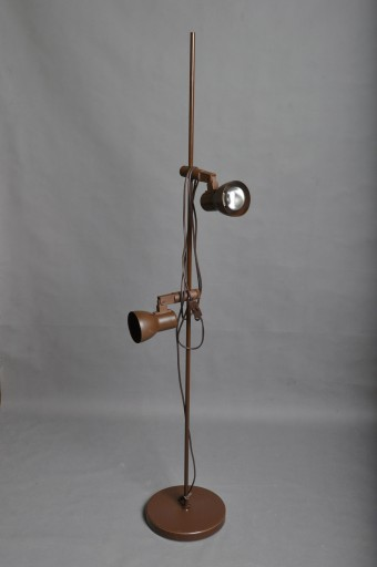 Lampa podłogowa z lat 80., 2 punkty świetlne
