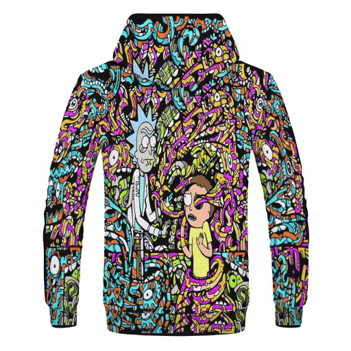 kiem cyfrowym męska bluza z kapturem Sweter męski 9813452326 Odzież Męska Swetry LM NAYRLM-1