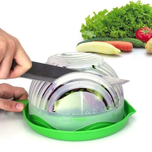 Deska Miska Do Krojenia Warzyw Salad Cutter Bowl 8408336339 Allegro Pl