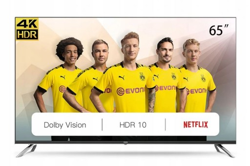 Telewizor 4K 65 CHiQ U65H7A Smart TV AndroidTV HDR