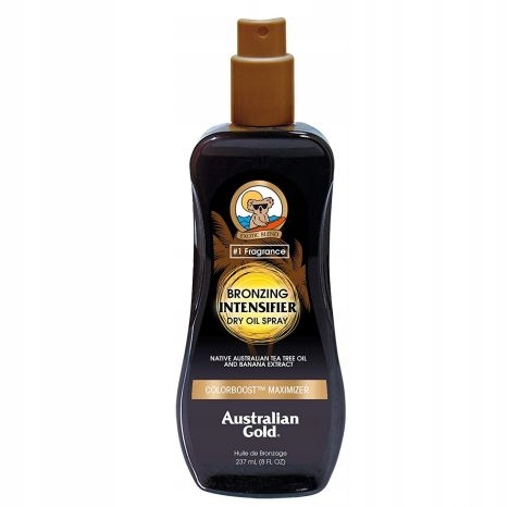 AUSTRALIAN GOLD DARK TANING INTENSIFIER OIL !