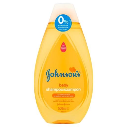 Johnson's Baby Gold Szampon dla dzieci 500ml