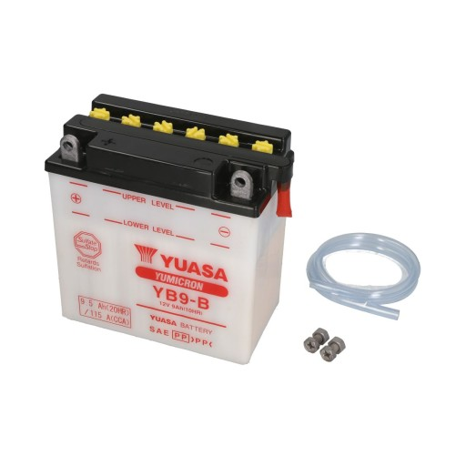 Akumulator YUASA 12V 9Ah 115A L+ YB9-B