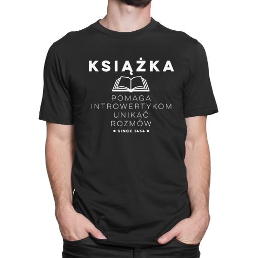koszulka dla INTROWERTYKA Książka KOLORY IW 01 L 9229135364 Odzież Męska T-shirty LC EXGILC-2