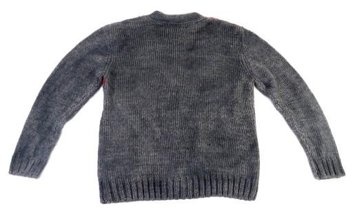 SWETER MĘSKI KARDIGAN JACK & JONES SZARY XL 10092311869 Odzież Męska Swetry NI YQEFNI-4