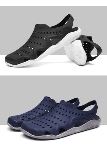 Męskie buty Buty z dziurami sandały r.45 10674041777 Obuwie Męskie Męskie ZQ PFKVZQ-9