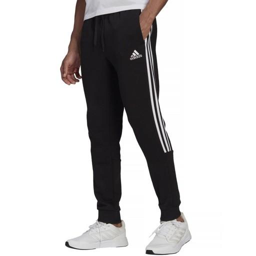 Spodnie męskie adidas 3 Stripes czarne GK8967 10685780320 Odzież Męska Spodnie XU JUWAXU-2