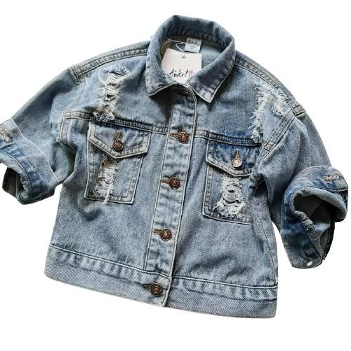 Kurtka Jeansowa Katana Jeans Denim Oversize 92 9712958130 Allegro Pl