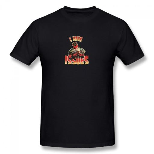 deadpool i have issues meski podkoszulek t-shirt 10690067134 Odzież Męska T-shirty CG ZMCYCG-8