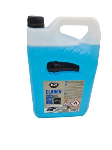 K2 CLAREN -22 Zimowy płyn do spryskiwaczy 5L