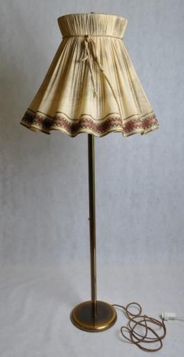 Rustykalna lampa podłogowa z lat 30., Niemcy