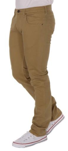 Lee powell BEŻOWE BIODRÓWKI RURKI W30 L34 9102182886 Odzież Męska Spodnie TD VZMFTD-8