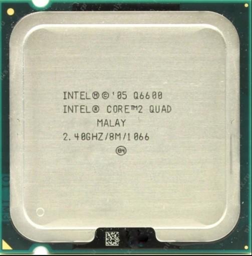 Procesor Intel Core 2 Quad Q6600 2.40GHz LGA 775
