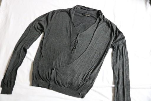 ZARA MAN BLACK TAG SWETER KARDIGAN ROZ. S (M) 10760810730 Odzież Męska Swetry ZM HCKPZM-4