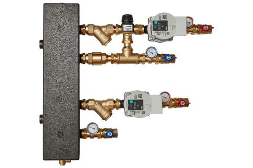 Zestaw mieszający ze sprzęgłem hydr. ESBE VTA372