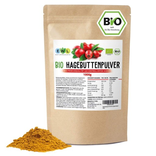 Proszek Z Dzikiej Rozy Organiczny Bio 1 Kg Mielone 9589577855 Allegro Pl