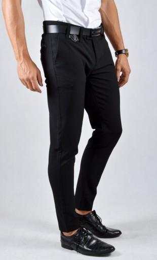 Eleganckie Spodnie Męskie Mondo Exclusive Slimfit 9587852196 Odzież Męska Spodnie FL OXYWFL-8