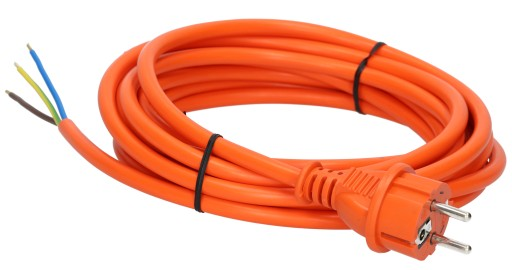 Przewód Kabel z wtyczką IP44 3x2,5 H05VV-F 20m
