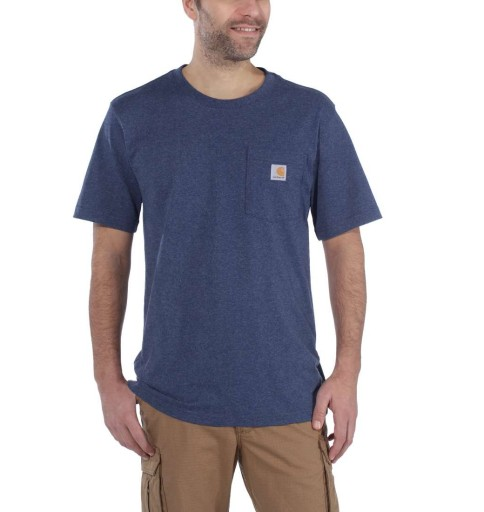 Koszulka Carhartt Workwear Pocket S/S Relaxed Fit 10458429063 Odzież Męska T-shirty KX NXWEKX-8