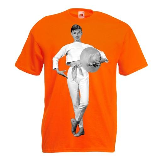 Koszulka z nadrukiem Audrey gwiazda prezent XXL 10522075330 Odzież Męska T-shirty FU RXHWFU-2