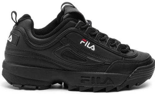 Fila Buty nowe czarne roz 45,5 sneakers