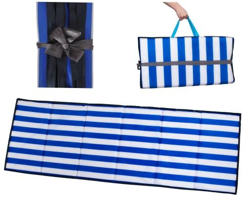 Mata Plażowa Koc na Plaże Kamieniste XXL Gruba 2cm
