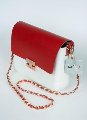 Torebka Wizytowa Lulu Bag na łańcuszku Doubleu