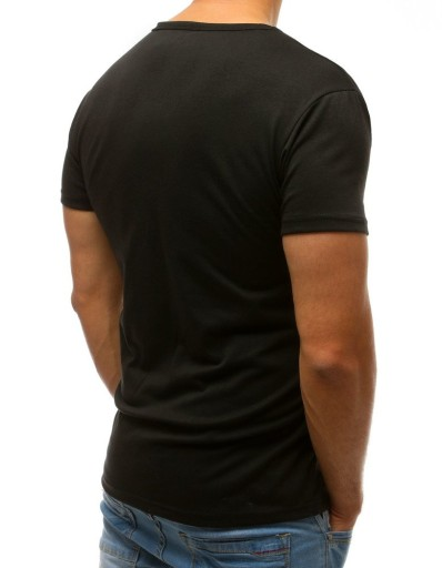 MĘSKA KOSZULKA T-SHIRT BEZ NADRUKU rx2579 - M 10696552413 Odzież Męska T-shirty XV LCYWXV-4