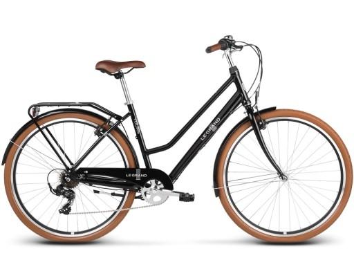 Rower Miejski Le Grand Tours 1 28 L czarny połysk