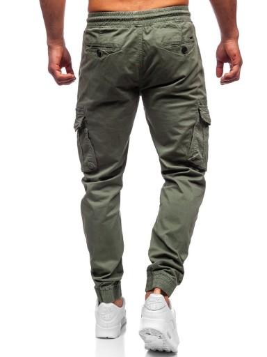 SPODNIE JOGGER JASNOZIELONE CT6706S0 DENLEY_32/M 10641017346 Odzież Męska Spodnie FX RMXLFX-4
